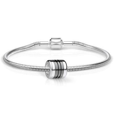 Bering Schmuckset Armband und Charm EndlessLove-1 aus Edelstahl Charm-Set-539