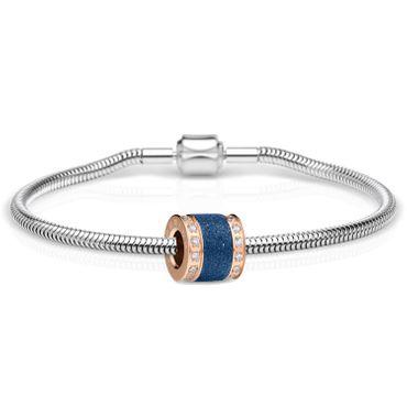 Bering Schmuckset Armband und Charm BestMom-2 aus Edelstahl Charm-Set-302