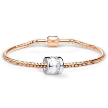 Bering Schmuckset Armband und Charm BestFriend-1 aus Edelstahl rosé Charm-Set-353
