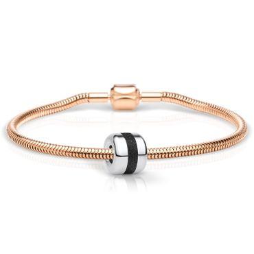 Bering Schmuckset Armband und Charm Believe-1 aus Edelstahl rosé Charm-Set-369