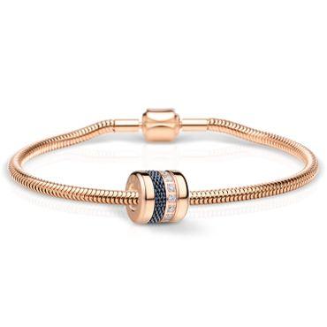 Bering Schmuckset Armband und Charm Friends4Ever-4 aus Edelstahl rosé Charm-Set-378
