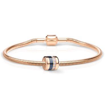 Bering Schmuckset Armband und Charm Friends4Ever-3 aus Edelstahl rosé Charm-Set-383