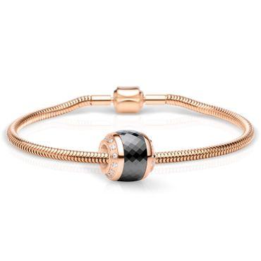 Bering Schmuckset Armband und Charm Thankful-2 aus Edelstahl rosé Charm-Set-384