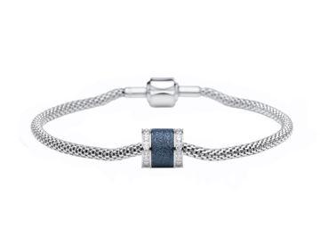 Bering Damen-Armband und Charm aus Edelstahl BestMom Charm-Set-543