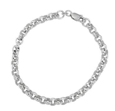 Damen-Armband 925 Sterling Silber 19 cm