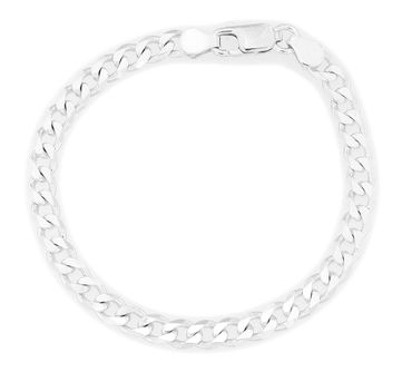 Armband Panzer 925 Sterling Silber 4mm
