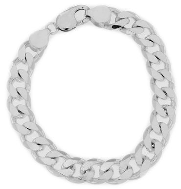 Armband Panzer 925 Sterling Silber 22cm