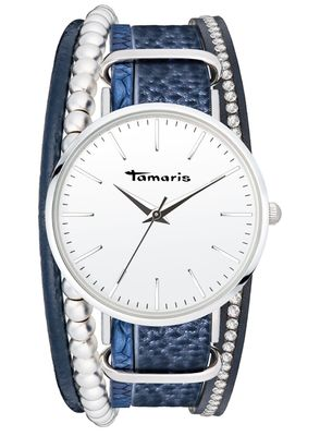 Tamaris Damen-Armbanduhr Anna blue analog Quarz TW102