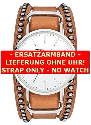 Ersatzarmband für Tamaris-Uhr Anna cognac TW105