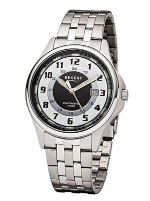 Regent Herren-Armbanduhr analog Quarz 37107W