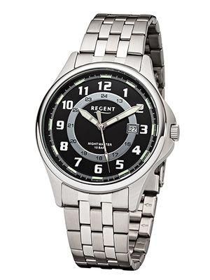 Regent Herren-Armbanduhr analog Quarz 37107S