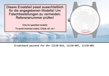 Bering original Ersatzband Uhrenarmband für 12138-007
