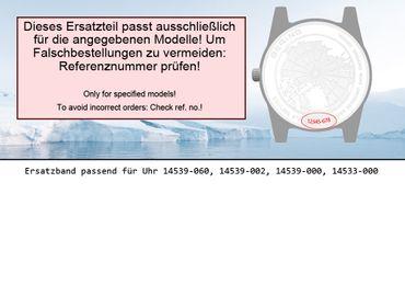 Bering original Ersatzband Uhrenarmband für 14539-060