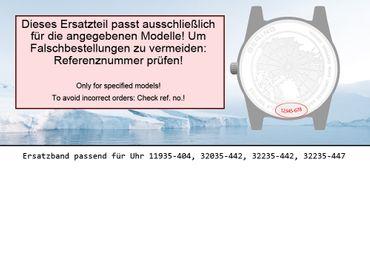 Bering original Ersatzband Uhrenarmband für 32035-442 asia size
