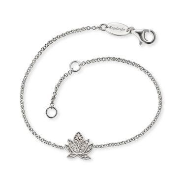 Engelsrufer Armband Lotus mit 23 weißen synth. Zirkonia ERB-LILLOTUS-ZI