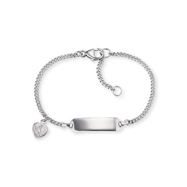 Herzengel Kinder-Armband ID Angeli Herz 925 Sterling Silber rhodiniert HEB-ID-ANGELI-HEART