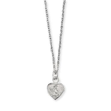 Herzengel Kinder-Kette Angeli Herz 925 Sterling Silber rhodiniert HEN-ANGELI-HEART