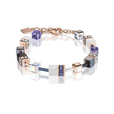 Coeur de Lion Armband 19 + 3cm lila 4013/30-0800