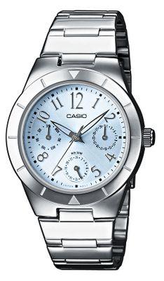Casio Damen-Armbanduhr LTP-2069D-2A2VEF