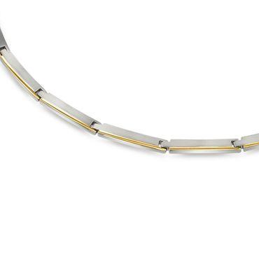 Boccia Damen-Collier Titan bicolor 08028-02