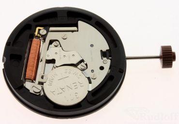 Uhrwerk Ronda 515 H2 Ersatzwerk für Armbanduhr Quarz Analog 11 ½ Linien