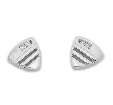 Damen Ohrstecker Sterling-Silber 925