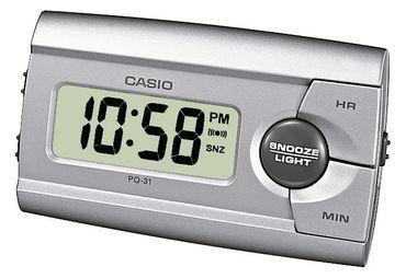 Casio Wecker Alarm Clock Digital LED PQ-31-8EF