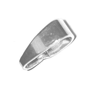 Anhängerschlaufe glatt 925 Sterling-Silber 7x2mm