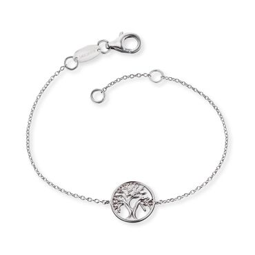 Engelsrufer Armband Lebensbaum Silber rhodiniert 12mm