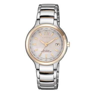 Citizen Damen-Armbanduhr Eco-Drive Analog Quarz EC1174-84D