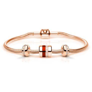 Bering Damen-Armband und Charmkombination Charm-Set-623
