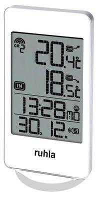 Digitaler Funk-Wecker mit Temperaturanzeige innen und außen