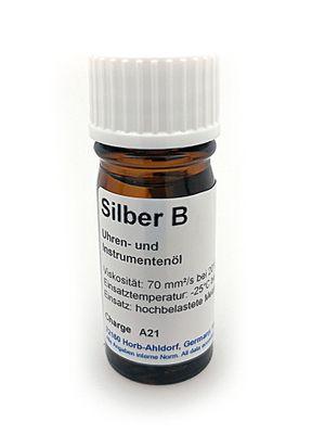 Etsyntha-Silber B Uhren- und Instrumentenöl 5 ml