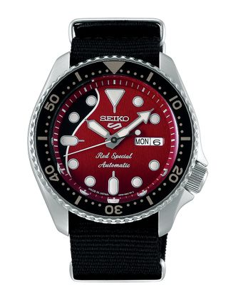 Seiko 5 Sports Herrenuhr Brian May Red Special Limited Edition 2020 analog Automatik