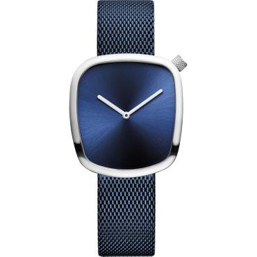 Bering Armbanduhr analog Quarz mit Edelstahl-Armband 18034-307