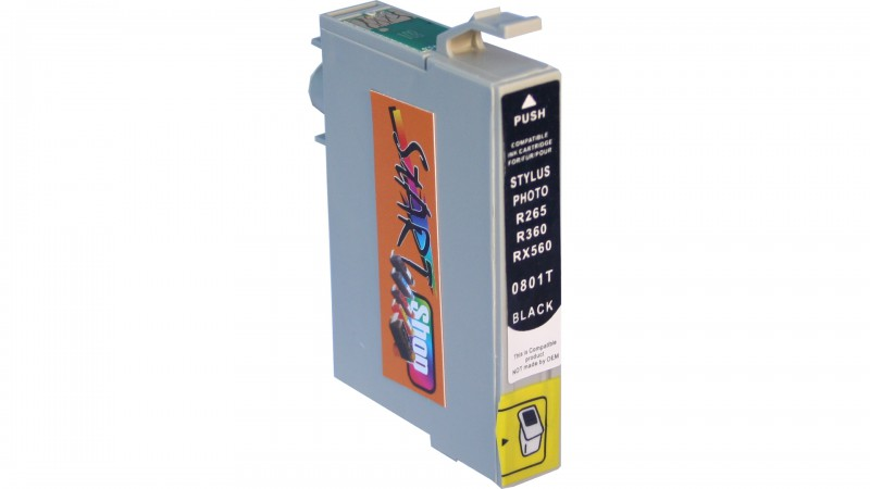 Compatible Ink Cartridge to Epson T0801 (BK)