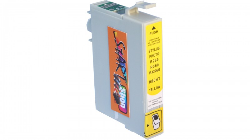 Compatible Ink Cartridge to Epson T0804 (Y)