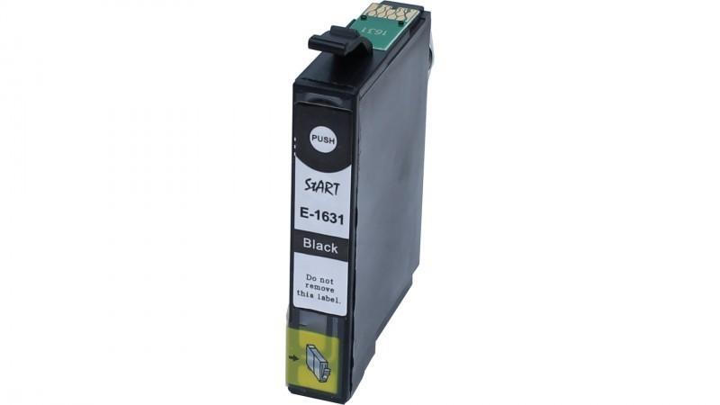 Ersatz Chip Patrone kompatibel zu Epson 16XL, T1631 Schwarz