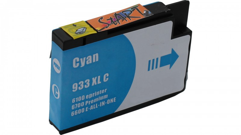 4 Compatible Ink Cartridges to HP HP932 + HP933  (BK, C, M, Y)