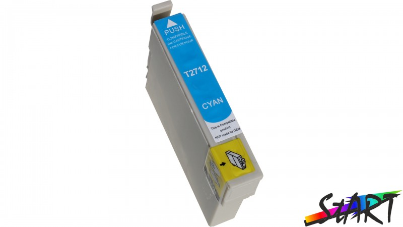 Compatible Ink Cartridge to Epson T2712 (C) XL