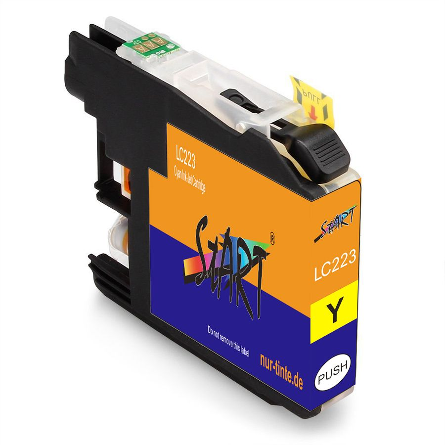 4 Compatible Ink Cartridges to Brother LC-223, LC-225, LC-227  (BK) XL