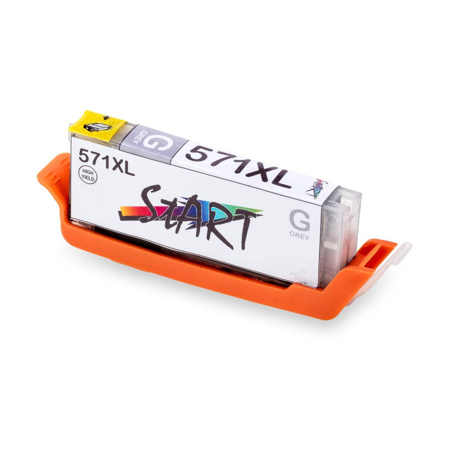 24 XL Ersatz Chip Patronen kompatibel zu Canon PGI-570 PGBK XL Schwarz, CLI-571BK XL Foto-Schwarz, CLI-571C XL Cyan, CLI-571M XL Magenta, CLI-571Y XL Gelb, CLI-571GY XL Grau