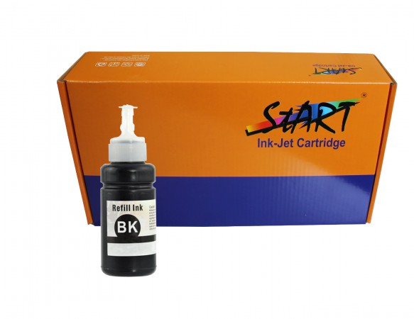Compatible Refill Ink to Epson T6641 (BK)