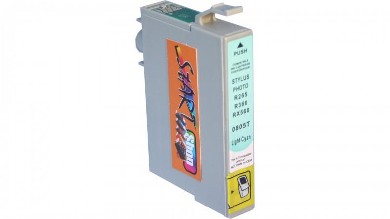18 Compatible Ink Cartridges to Epson T0801 - T0806  (BK, C, M, Y, LC, LM)