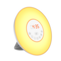 Radiowecker mit LED Wake up Light Licht Wecker Denver CRL 330 mit Sonnenaufgang Simulation