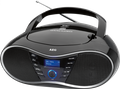 Tragbarer CD-Player mit DAB+ Digitalradio, CD, MP3, USB, Aux-In AEG SR 4380
