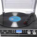 Stereoanlage mit CD, LP, Kassettenrecorder, DAB Radio, USB, SD Denver MRD 165