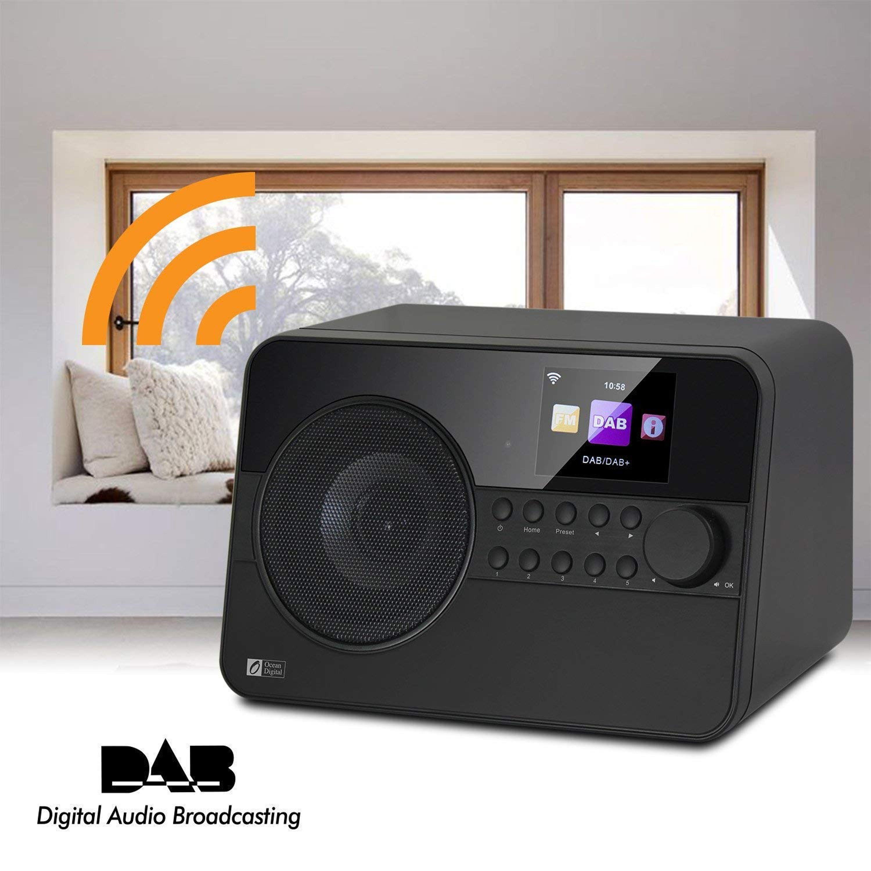 digitalradio dab radio internetradio radiowecker mit wlan. Black Bedroom Furniture Sets. Home Design Ideas