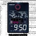 Wetterstation mit Innemperartur, Luftfeuchtigkeit, Uhr und Wecker CTC WSU 7024
