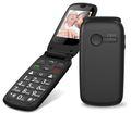 Seniorenhandy Grosstastentelefon Handy Klapphandy Telefon ohne Vertrag ROXX MP400